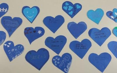 Lepe misli na modrih srcih