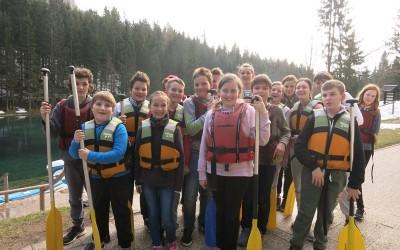 Sedmošolci na taboru: 2. dan