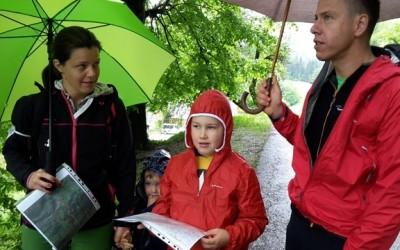 Pomladno orientacijsko tekmovanje družin