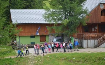 Prvi dan Doživljajsko-planinskega tabora na Zelenici
