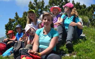 Tretji dan Doživljajsko-planinskega tabora na Zelenici