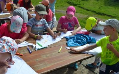 Četrti dan Doživljajsko-planinskega tabora na Zelenici