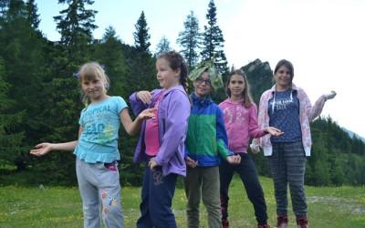 Peti dan Doživljajsko-planinskega tabora na Zelenici