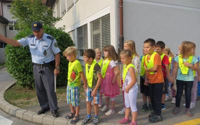 Abeceda prometne varnosti v 1. razredu