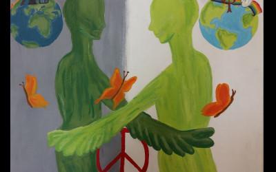 Otvoritev razstave Plakat miru