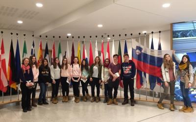 Obisk Evropskega parlamenta v Bruslju