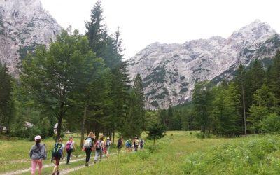 Doživljajsko – planinski tabor: 1. dan
