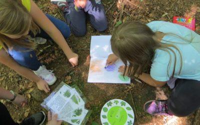 Naravoslovni dan v gozdu z drugošolci