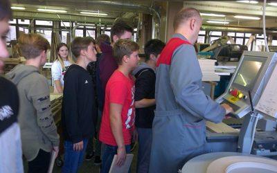 Obisk Srednje lesarske šole v Škofji Loki