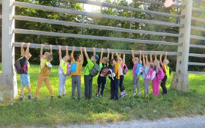 Jesenski športni dan prvošolcev